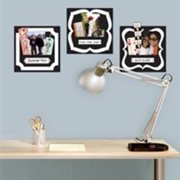 Stickr Pockets (Set of 3) Dorm Wall Decor Stuff College Decorations Fun Supplies College