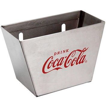 Authentic Coca-Cola Coke Metal Wall Mount Bottle Cap Catcher New