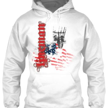 American Lineman - Vintage Grunge Style Apparel Limited Edition