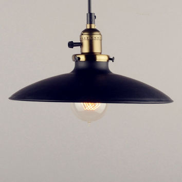 Ceiling Lamp - steel lampshade OR full set lamp - industrial style - DIY lighting -