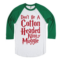 Harry Potter Christmas - Don't Be A Cotton Headed Ninny Muggle