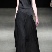 Luna Dress With Chiffon Yoke And Skirt by 3.1 Phillip Lim - Moda Operandi