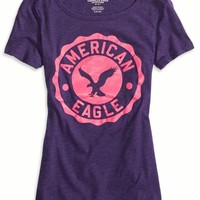 AEO Women's Factory Vivid Graphic Scoop T-shirt
