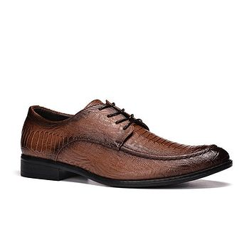 40-45 men oxfords big size handsome comfortable Embossed Pu leather men wedding shoes