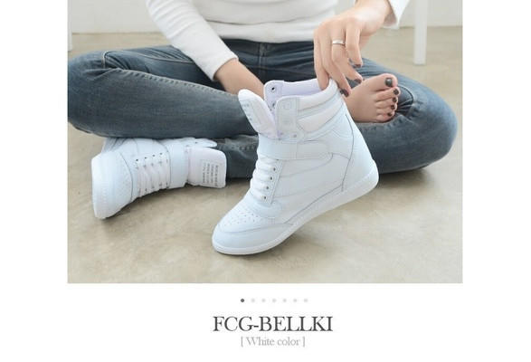4ab463eaabf7 Ankle Boots Heels Shoes Women Casual Shoes Height Increased Wedges Shoes   8834071948