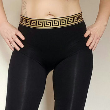 Reworked versace leggings / pants