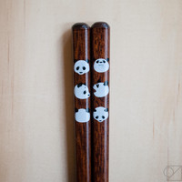 Japanese Chopsticks Panda Feelings