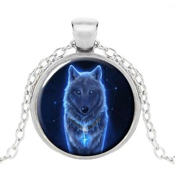 FREE Glow In The Dark Wolf  Unisex Necklace