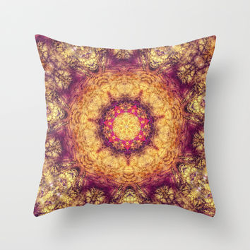 Indian carpet Throw Pillow by Jbjart | Society6