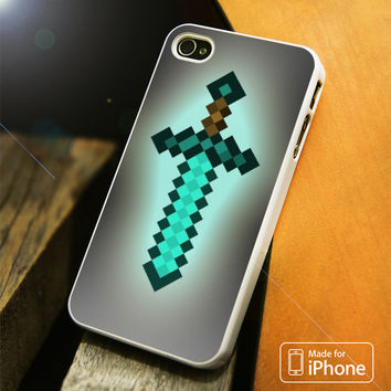 Minecraft Sword iPhone 4(S),5(S),5C,SE,6(S),6(S) Plus Case