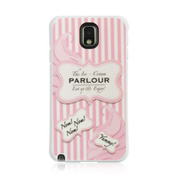 DW Premium TPU IMD Case for Samsung Galaxy Note 3 - Cotton Candy
