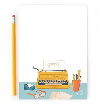 Retro Typewriter - Notepad