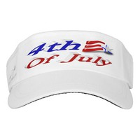 4th of July Star & Stripes 3D Visor