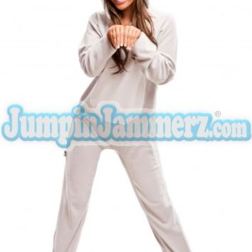 Grey Mouse - Costumes - Pajamas Footie PJs Onesuits One Piece Adult Pajamas - JumpinJammerz.com