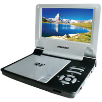"Sylvania 7"" Portable Dvd Player (black)"