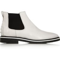 Tod's No_Code | Glossed-leather Chelsea boots | NET-A-PORTER.COM