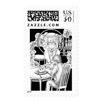 Memorable restaurant postage