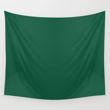Teal The World (Green) Wall Tapestry by Moonshine Paradise
