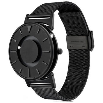 Black Bradley Steel Watch