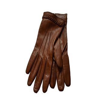 Gucci Women's Brown Riding Gloves 354370