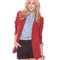 Oversized Blazer - New Arrivals - Apparel - 2000031869 - Forever21