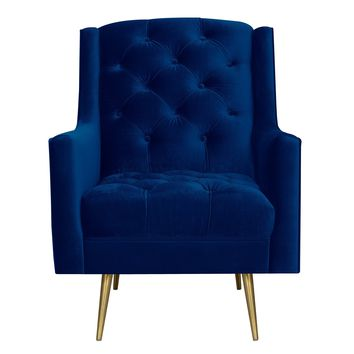 Elle Accent Chair NAVY