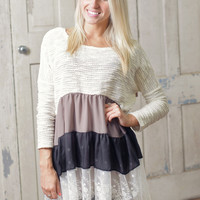 One Sweet Day Tunic - Piace Boutique
