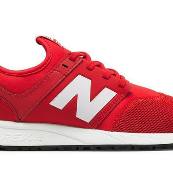 spbest New Balance Men's MRL247RW - Red/White