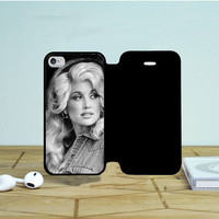 Dolly Parton iPhone 5 Flip Case Dewantary