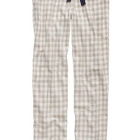 Aerie Women's Flannel Pajama Pant (Silver Steel)