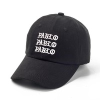 PABLO BEAR Embroidered Baseball Cap Hat