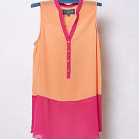 Anthropologie - Colorblocked Brookline Blouse