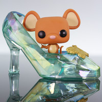Funko Pop Disney, Cinderella, Gus In Glass Slipper #39.