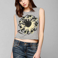 Truly Madly Deeply Sunflower Yin-Yang Muscle Tee - Urban Outfitters