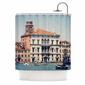 "Sylvia Coomes ""Venice 6"" Travel Coastal Shower Curtain"