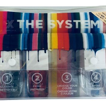 Formula X for Sephora The System Choose Your Color Gift Set (8 Items in Gift Bag)