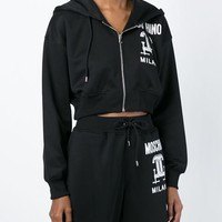 Moschino Interlocking C-clamp Sweatshirt - Parisi - Farfetch.com