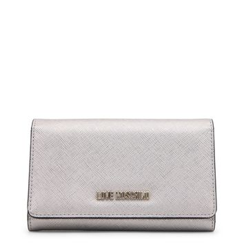 Love Moschino Silver Wallet