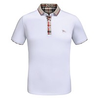 Burberry POLO Fashion Casual Men Print Short Sleeve Tee Top T-shirt G-A00FS-GJ