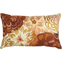 Floral Collage Pillow