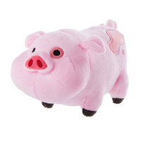 16cm 1pcs Gravity Falls Pink Pig Waddles Plush Toy