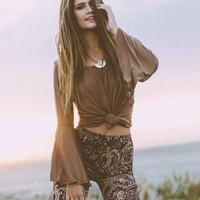Wanderlust Gypsy Top