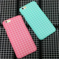 Vintage Non-slip Lattice iPhone 5c 5se 5s 6 6s Plus Case Solid Cover + Christmas Gift Box 441