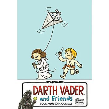 HACHETTE DARTH VADER AND FRIENDS FOUR MINI ECO-JOURNALS