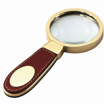 Free Engraved Personalized Leather Magnifying Glass
