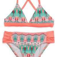 Girl's Hurley Two-Piece
