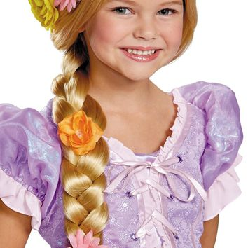 Rapunzel Prestige Wig Child Beautiful Costume