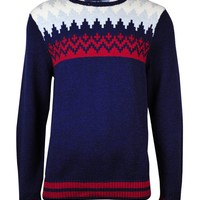 Tommy Hilfiger Men's Shoreland Fair Isle Crewneck Sweater