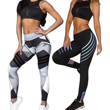 Women Yoga Sets Quick Dry Tracksuit Running Sports Suit Female Fitness Bra Elastic Workout Leggings Gym Clothing 2 Pieces Set