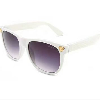 Perfect Versace Women Casual Popular Summer Sun Shades Eyeglasses Glasses Sunglasses(With Thanksgiving&Christmas Gift Box)